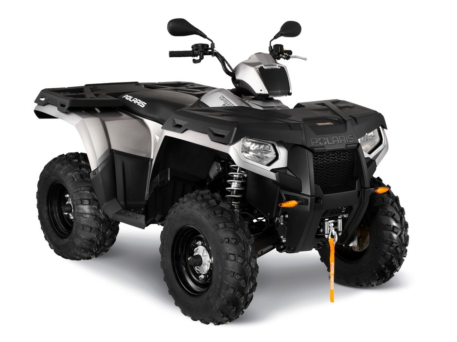 Sportsman 500 H.O. 4×4 Forest LE – Silver Metallic